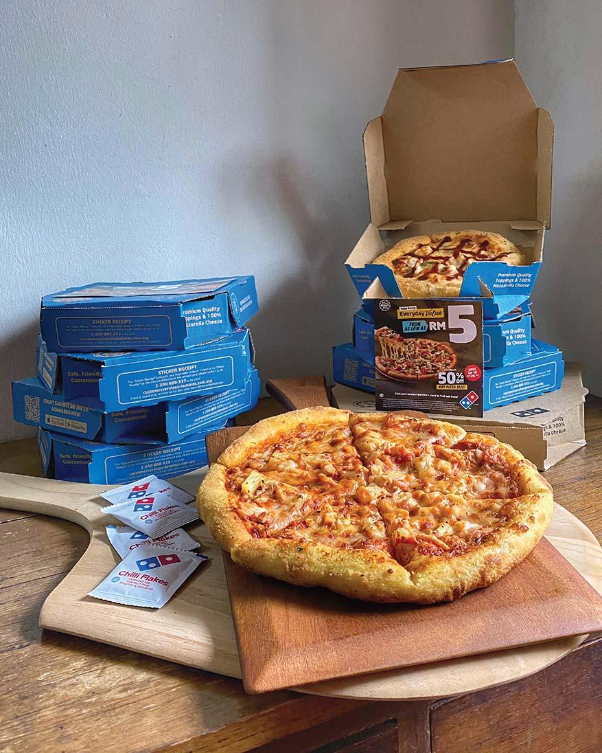Extraordinary Savings with 'Everyday Value' @ Domino's Pizza