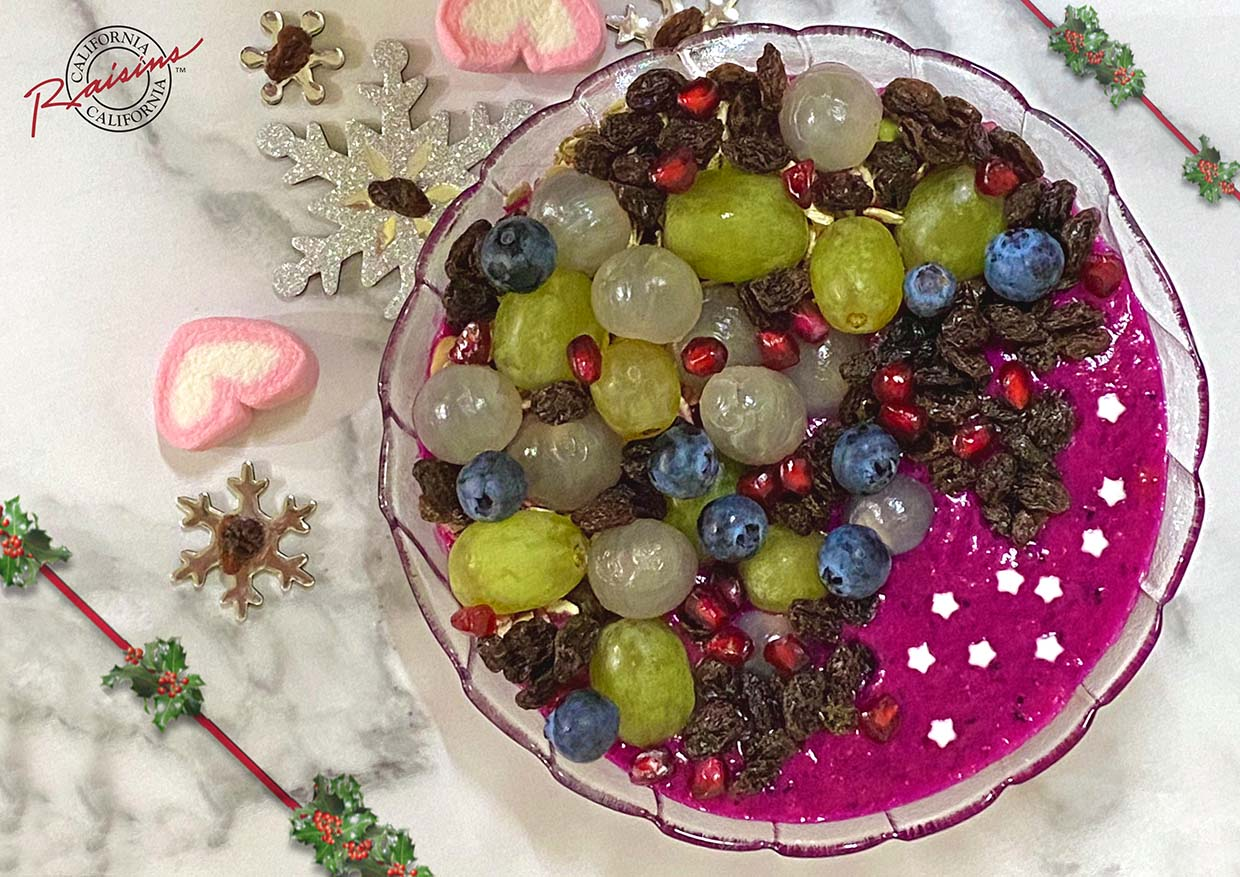 """Scrumptious Festive Dishes With California Raisins """"Sweet Naturally"""" Campaign"""