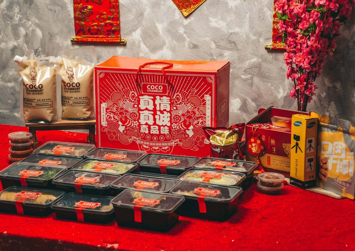 Ox-picious Chinese New Year with Abundant Dabao Sets @ Coco Steamboat