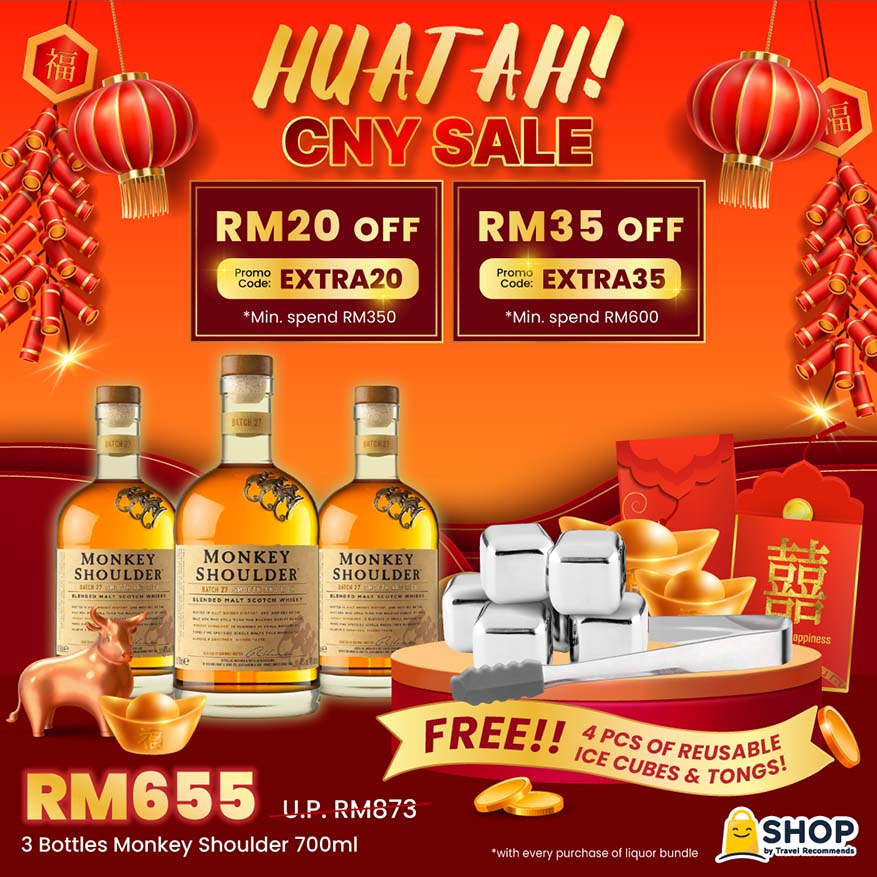 Turn Up The CNY Huat This MCO With SHOP By Travel Recommends