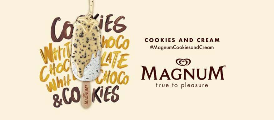 Playful Pleasure With Magnum Cookies and Cream