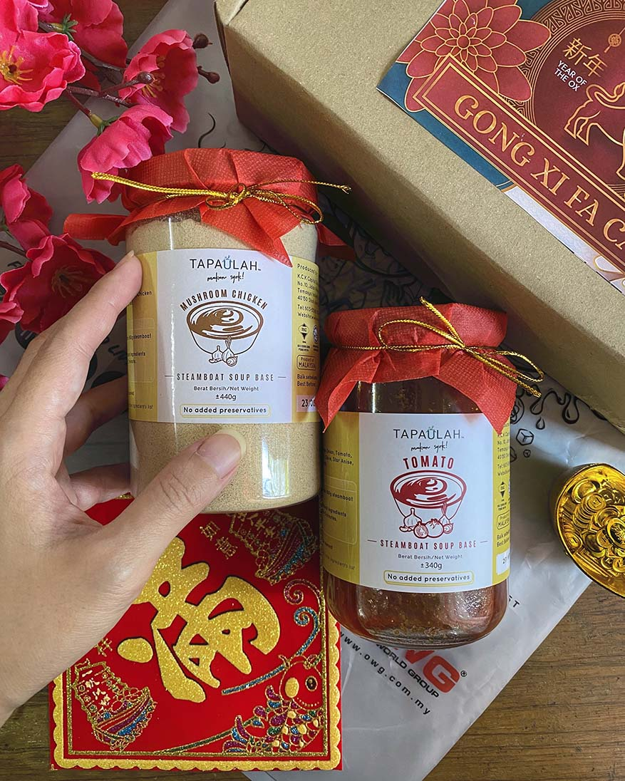 Unique & Practical Chinese New Year Gift Sets With TAPAULAH