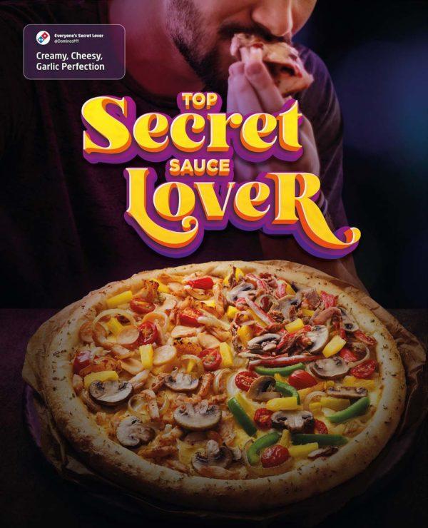 dominos pizza top secret quattro four flavours