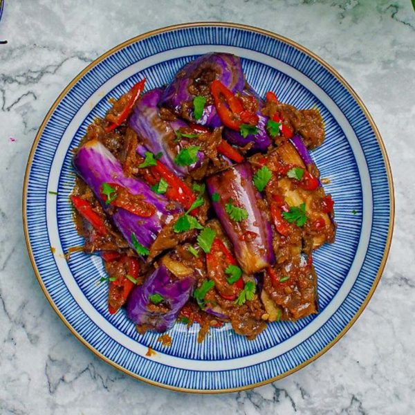 sedaptv meal kit eggplant sambal
