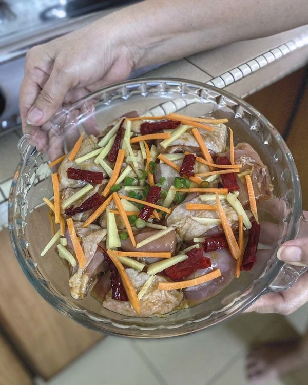 sedaptv meal kit steamed chicken with ginger home cooked food