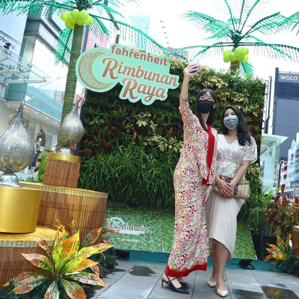 fahrenheit88 kuala lumpur rimbunan raya celebration