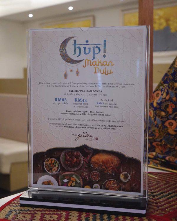 hilton garden inn puchong the garden grille ramadan buffet price