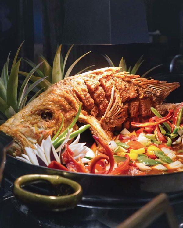 intercontinental kl serena brasserie kecerian senja ramadan buffet fish