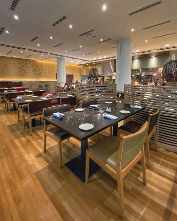 intercontinental kl serena brasserie kecerian senja ramadan buffet spacious