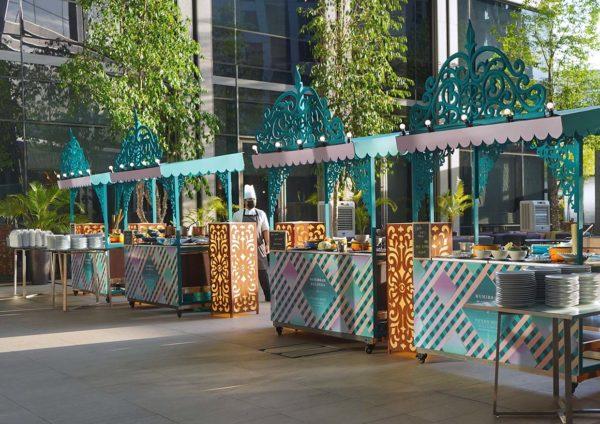 pavilion hotel kuala lumpur muhibbah malaysia ramadan buffet stalls