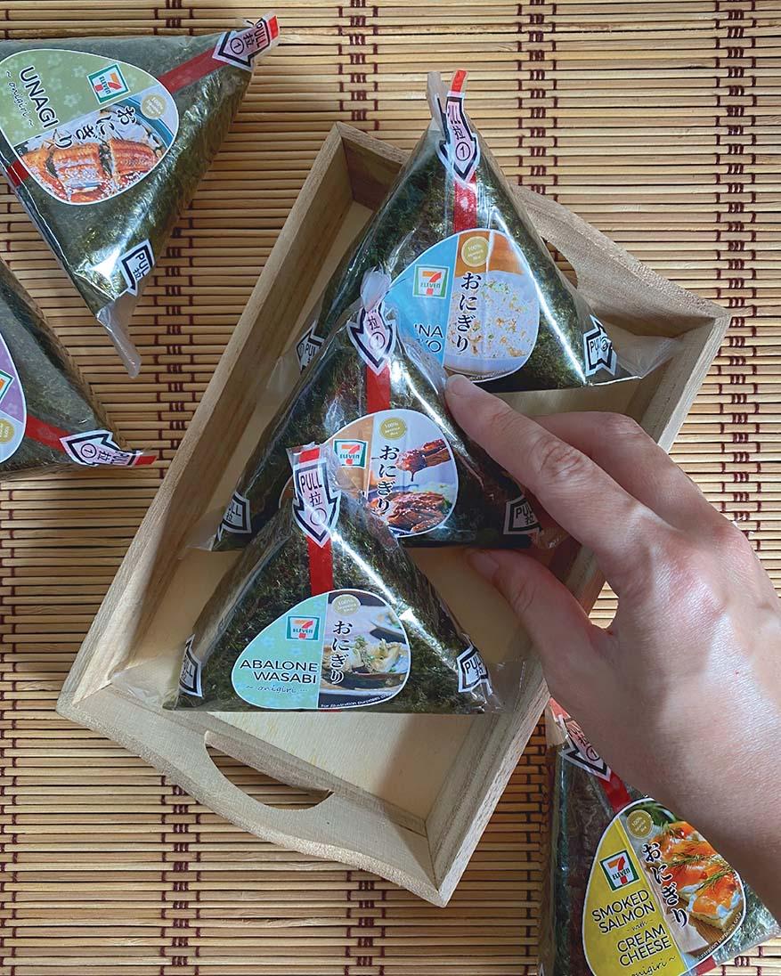 New Onigiri Flavours @ 7-Eleven Malaysia