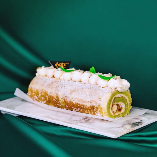 elevete patisserie raya special ondeh ondeh roulade