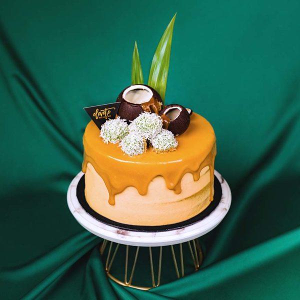 elevete patisserie raya special pandan delight cake