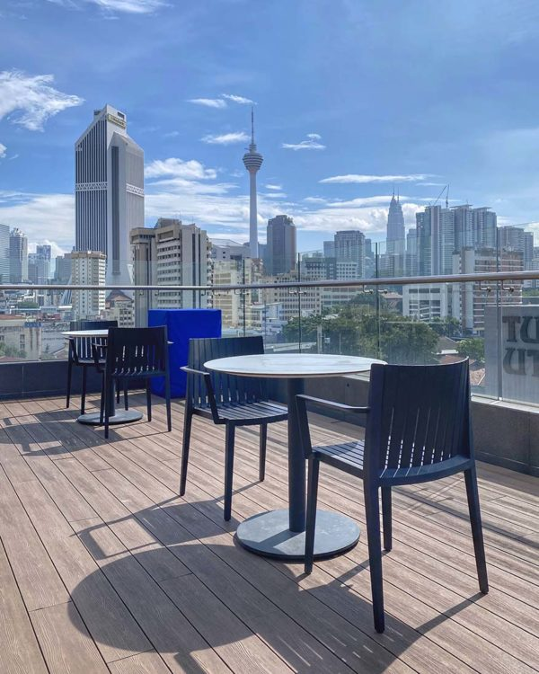 four points by sheraton kuala lumpur chinatown jann bar deck