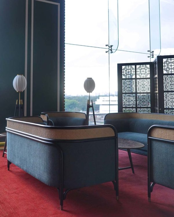 four points by sheraton kuala lumpur chinatown lobby sofa