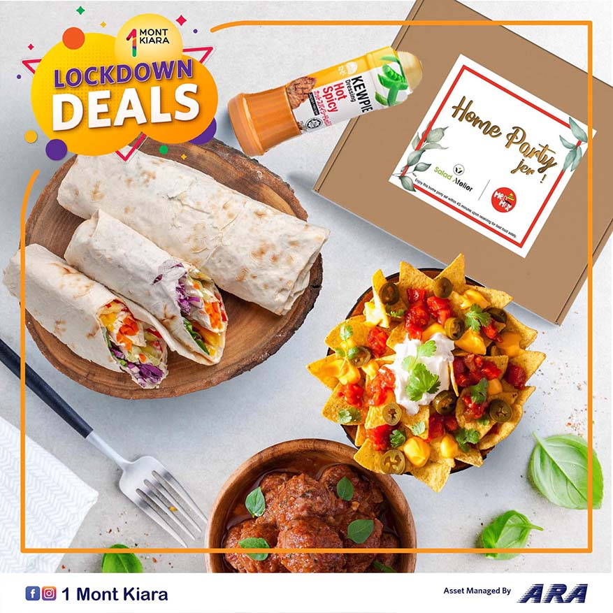 Don't Miss Out Attractive Lockdown Deals @ 1 Mont Kiara