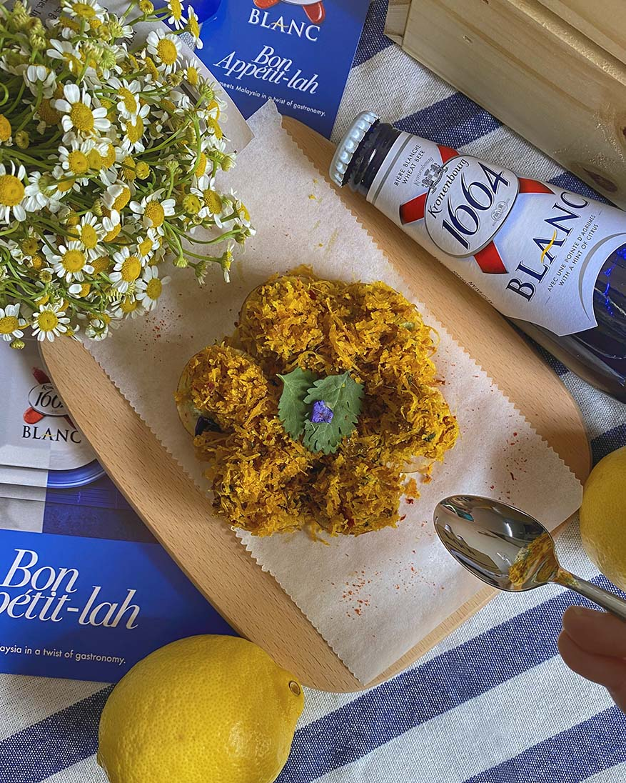 Bon Appetit-lah With French-Malaysian 1664 Blanc Recipes