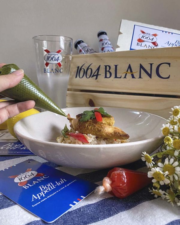 1664 blanc bon appetit lah gastronomy campaign kai fan pilaf a la biere