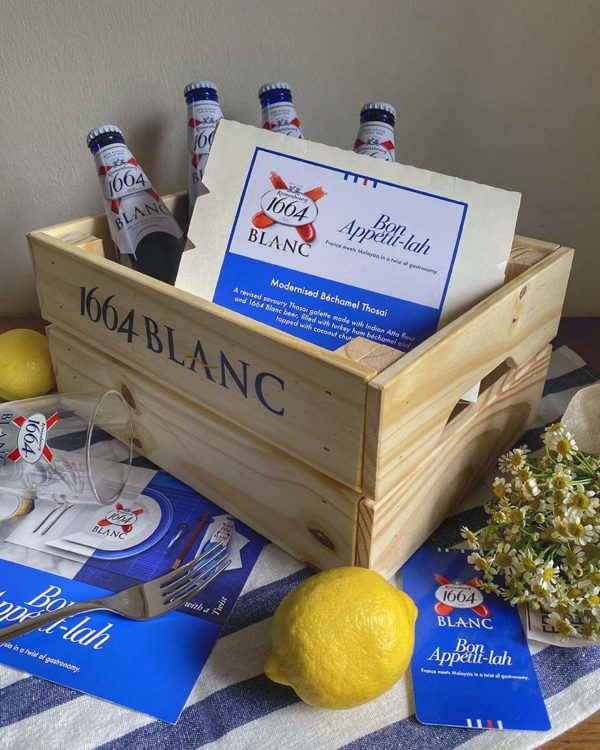 1664 blanc bon appetit lah gastronomy campaign wheat beer