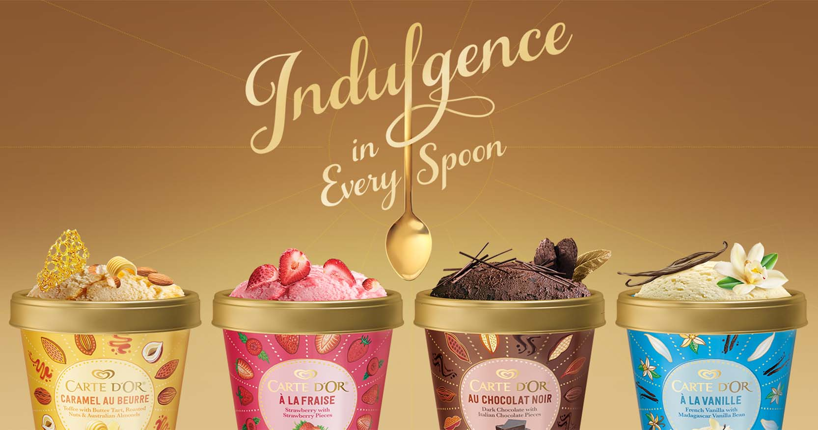 New Premium Ice Cream Carte D'Or By Wall's Malaysia