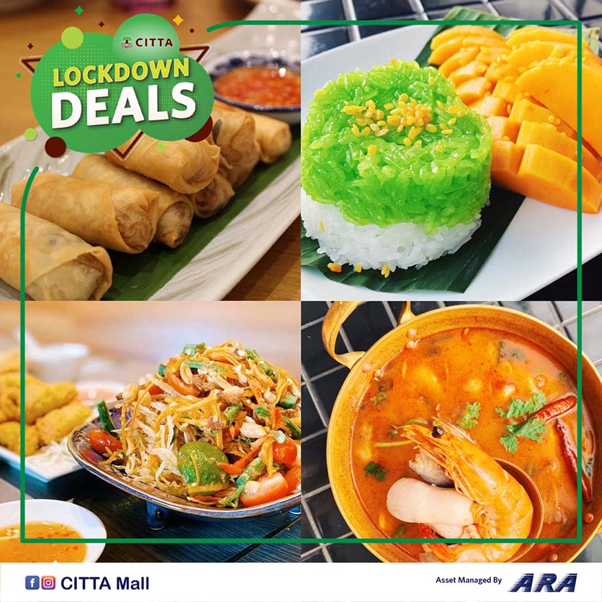 Don't Miss Out Attractive Lockdown Deals @ CITTA Mall, Ara Damansara