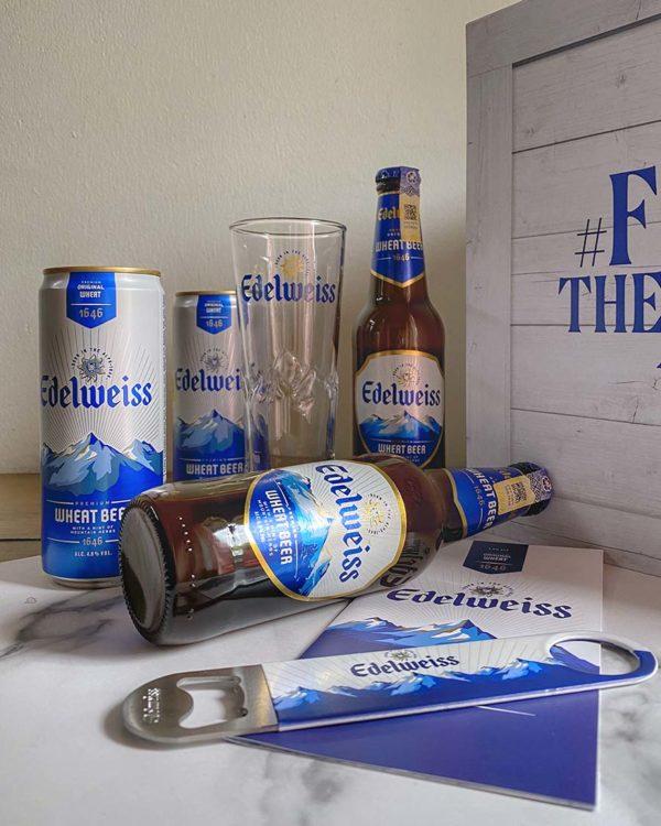 edelweiss premium wheat beer heineken malaysia