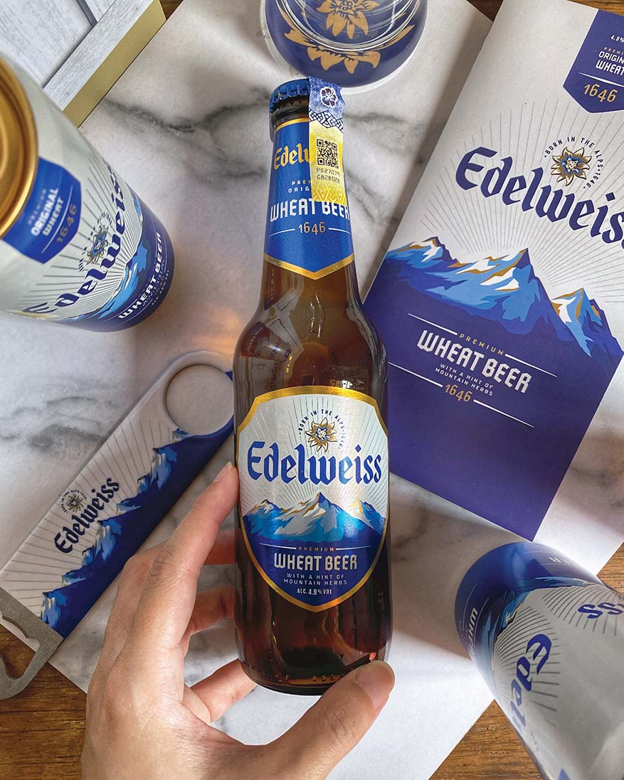 Feel the Alps @ Premium Wheat Beer Edelweiss