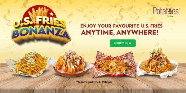 us fries bonanza grab food collaboration