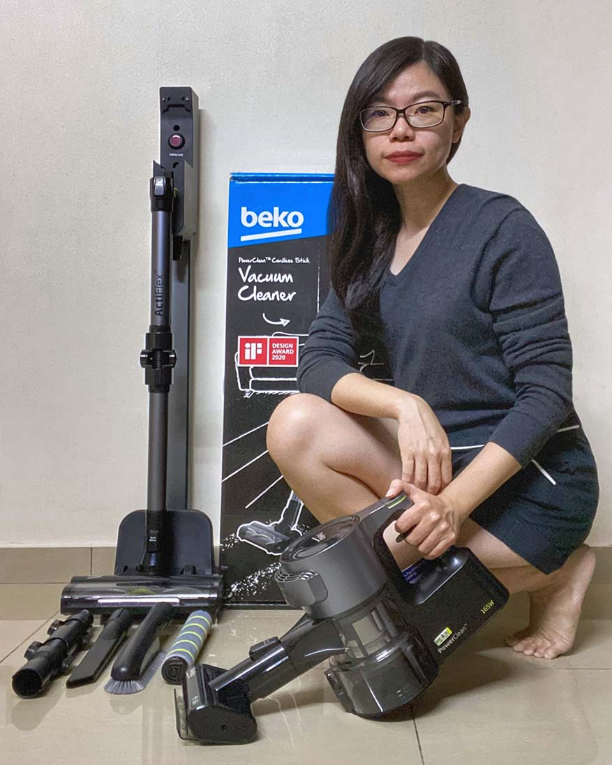 Vacuum Without Hassle With Beko PowerClean™ Cordless Vacuum Cleaner
