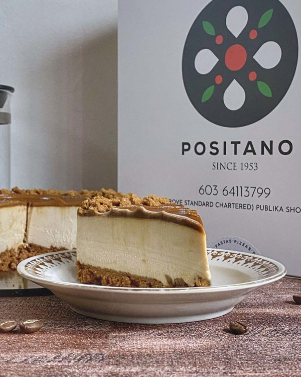 dolce by positano publika biscoff cheesecake sliced