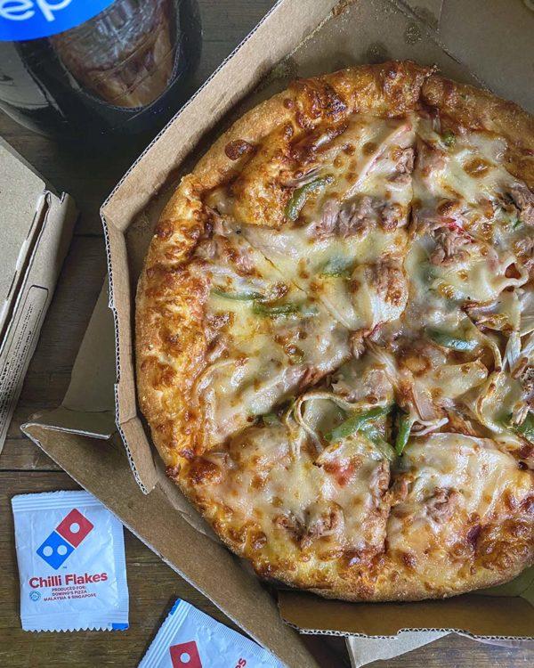 dominos pizza etika senang menang contest extra cheese