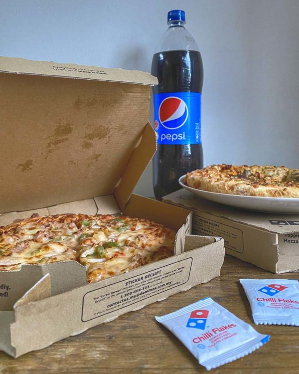 dominos pizza etika senang menang contest pepsi