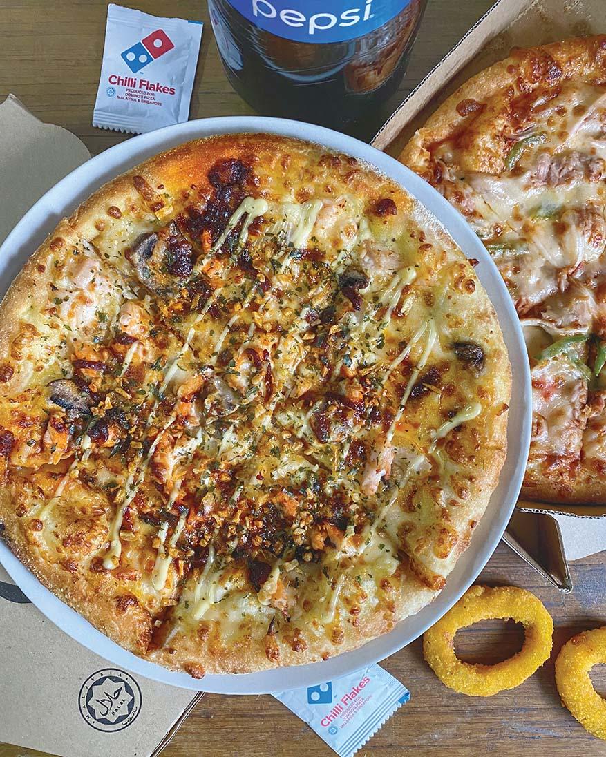 Senang Menang Contest with RM250,000 Prizes @ Domino's Pizza & Etika