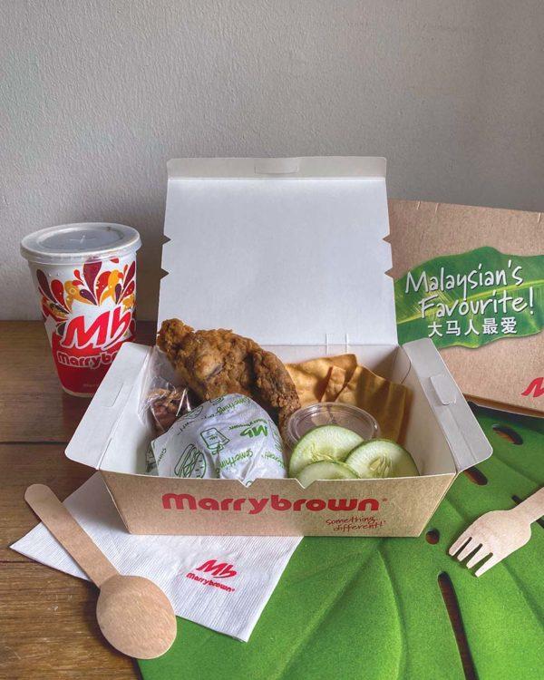 marrybrown shopee sales hari nasi lemak mb crispy chicken