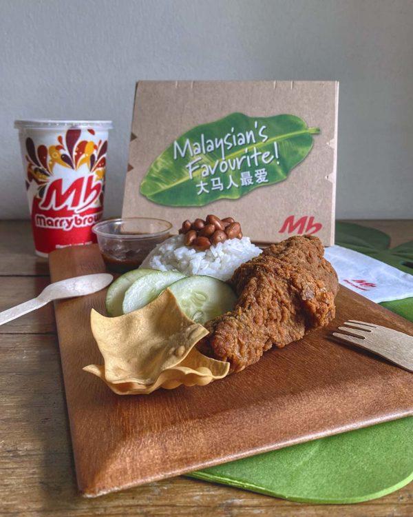 marrybrown shopee sales hari nasi lemak mb local favourite