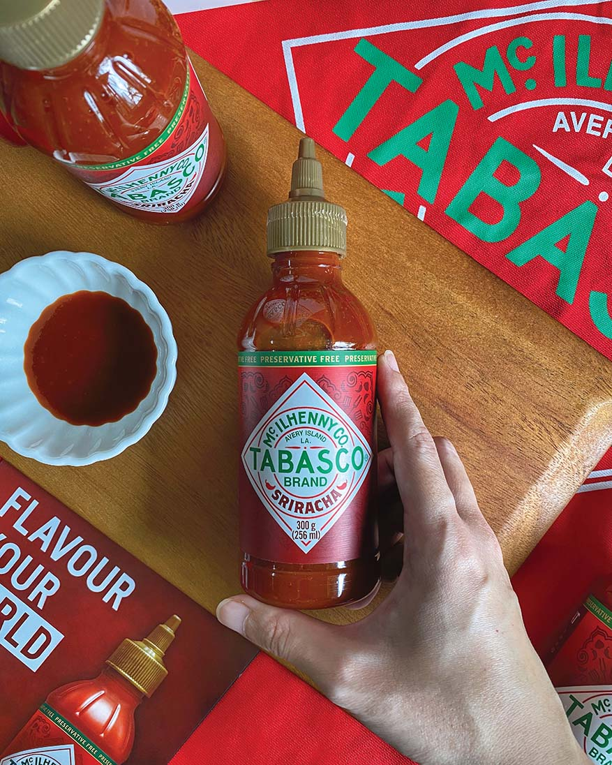 TABASCO® Sriracha Sauce With Much-Loved Thai Classic Flavour