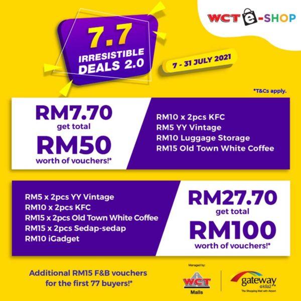 wct malls 77 irresistible deals gateway klia2