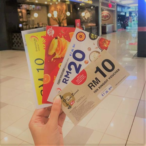 wct malls 77 irresistible deals paradigm mall petaling jaya voucher