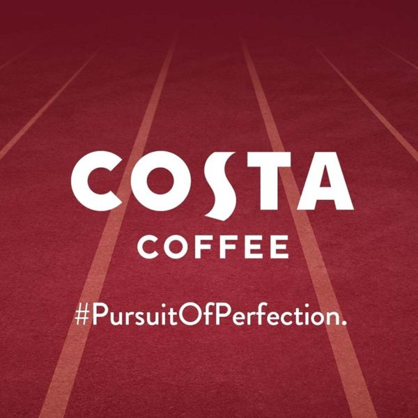 costa coffee golden caramel range olympic games tokyo 2020 pursuit of perfection