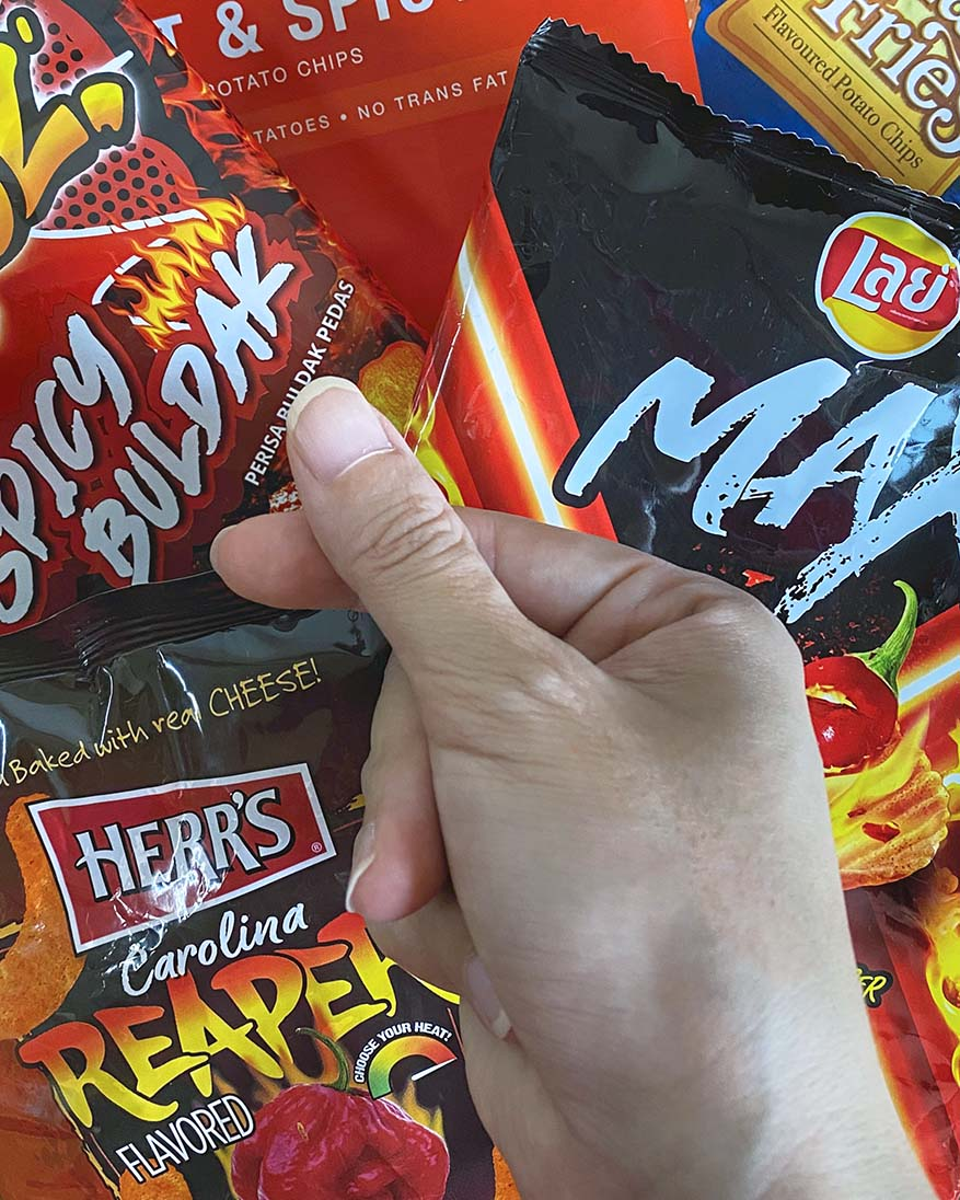 Don't Miss Out These 8 Spicy Potato Chips @ 7-Eleven Malaysia