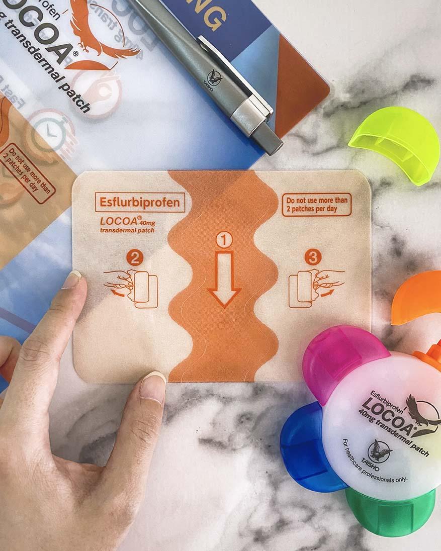 LOCOA® (Esflurbiprofen) For Osteoarthritis By Taisho Pharmaceutical