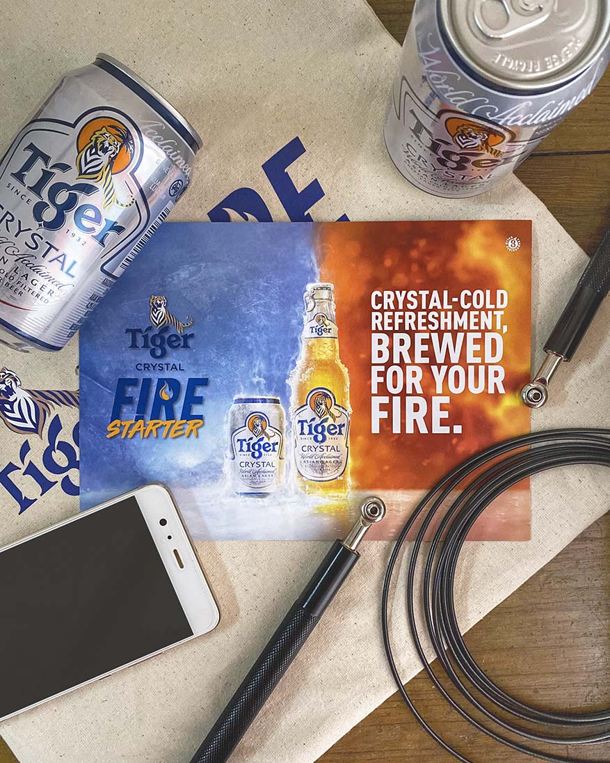 Uncage Your Inner Fire with Tiger Crystal's #FireStarter
